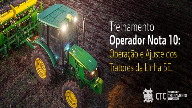 Operação dos Tratores da Linha 5E - Turma 2021/2